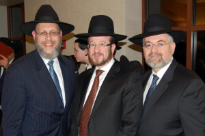 Rabbi Drazin, Rabbi Dessler, Mr. Heifetz