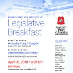 Agudath Israel of New Jersey Legislative Breakfast