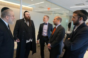 Kosher Pantries and Soup Kitchens meet with HRA