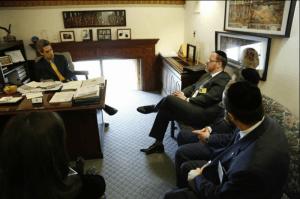 Meeting with State Senator Daniel Biss (D-Evanston)