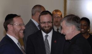 Rabbi Yehiel M. Kalish, Rabbi Yitzchok Ehrman and Chicago Archbishop Cupich