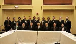 Administration and Staff at Agudath Israel of America's Government Affairs Staff Retreat