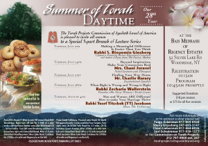 Summer of Torah Daytime