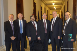 Agudath Israel Leaders Meet with Senator Gillibrand on Iran Nuclear Deal1