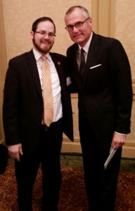 Rabbi A. D. Motzen with Georgia Lieutenant Governor Casey Cagle.