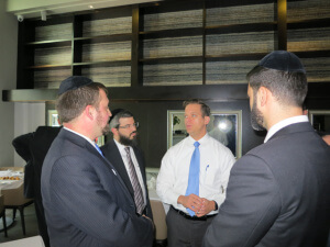 Agudath Israel of Florida Meets with Lt. Governor 1