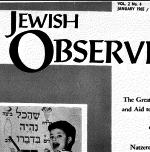 The Jewish Observer Vol. 2 No. 4 January 1965/Adar I 5725