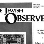 The Jewish Observer Vol. 2 No. 5 March 1965/Nissan 5725