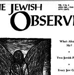 The Jewish Observer Vol. 2 No. 6 April 1965/Iyar 5725