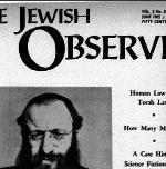 The Jewish Observer Vol. 2 No. 8 June 1965/Tammuz 5725